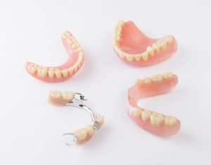 Multiple types of dentures